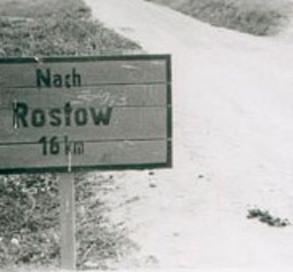 Немецкий указатель во время оккупации