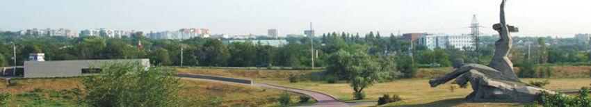 Панорама мемориального комплекса в Змиёвской балке