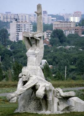 Монумент в Змиевской балке
