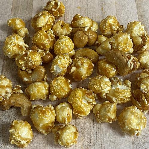 Caramel Cashew Popcorn