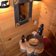 Powder Bath Sink + Mirror