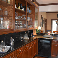 With Wine Fridge and Ice Maker
