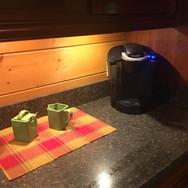 Keurig and Coffee Nook