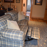 Reclining Couch with Footrests