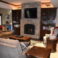 Seating and Fireplace