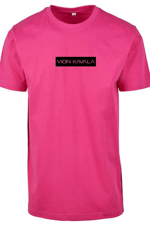 VION KAVALA PREMIUM SHIRT PINK/BLACK