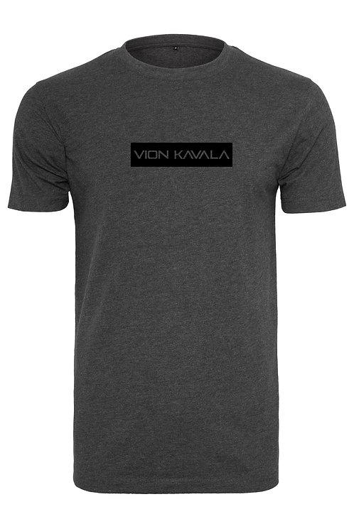 VION KAVALA PREMIUM SHIRT CHARCOAL/BLACK