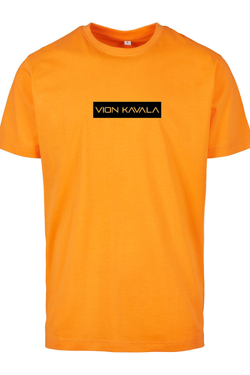 VION KAVALA PREMIUM SHIRT ORANGE/BLACK