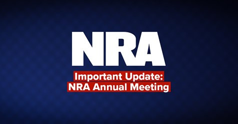 149th NRA Annual Meeting Cancellation
