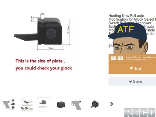 Multiple Reports of Wish.com Glock Sear Arrests by ATF