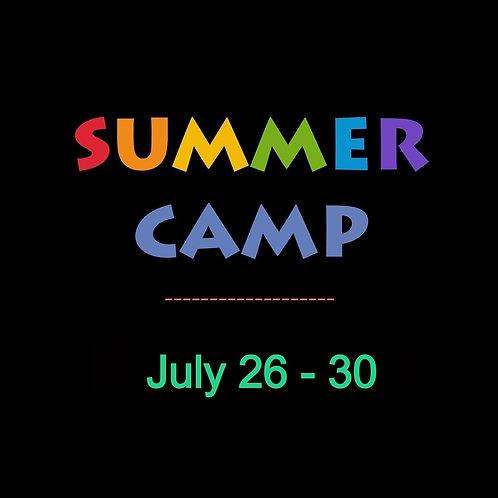 July 26-30th Week long @ ARTsCCP