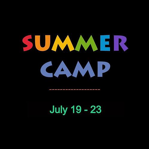 July 19-23rd Week long @ ARTsCCP