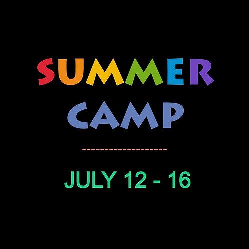 July 12 - 16 Week long @ ARTsCCP : Online Only