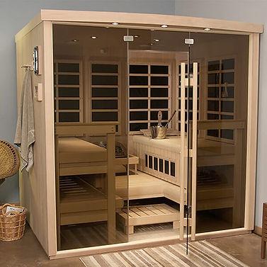 Helo custom modular saunas