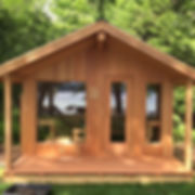 An outdoor sauna house kit made specifically for your sauna lifestyl