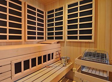 Helo custom infra-sauna