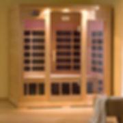 A B830 infrared sauna exterior fullview