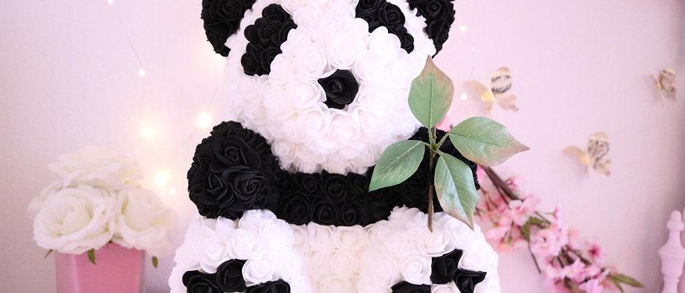 """15"""" Rose Panda"""
