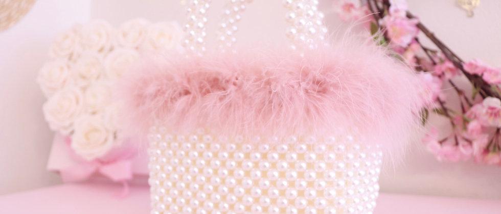 Fluffy Pearl Bag