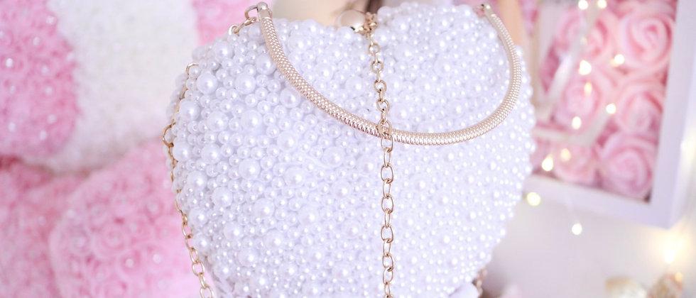 Heart Pearl Bag