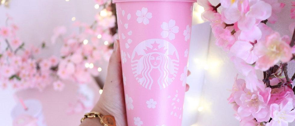 Cherry Blossom Pink Tumbler