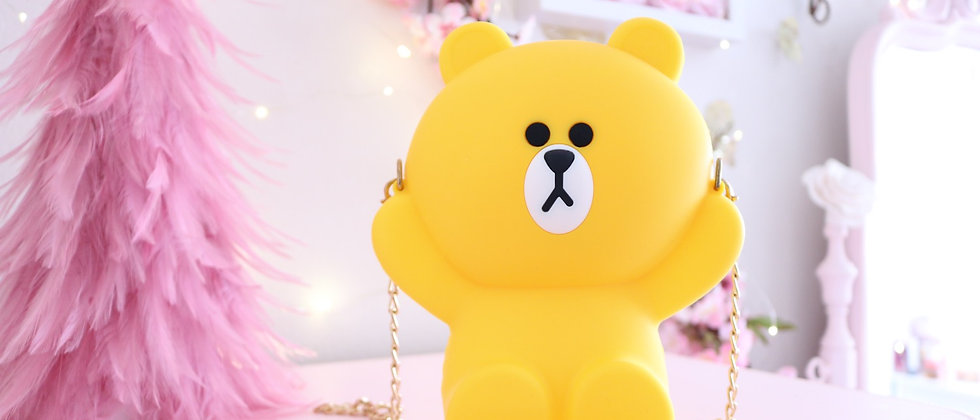 Yellow Bear bag