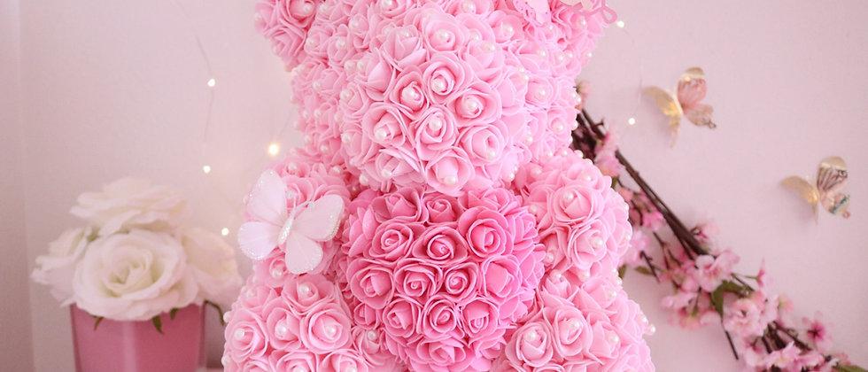 "15"" Princess Rose Bear"