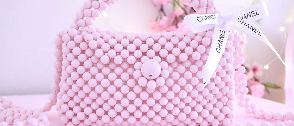 Pale Pink Pearl Bag
