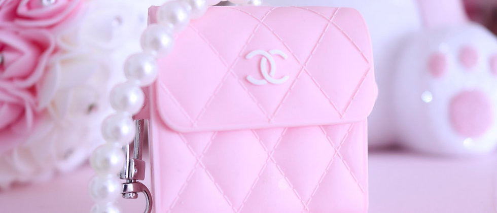 Cc Light Pink Airpod Case