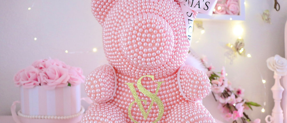 "13"" Limited Edition VS light pink Pearl Bear"