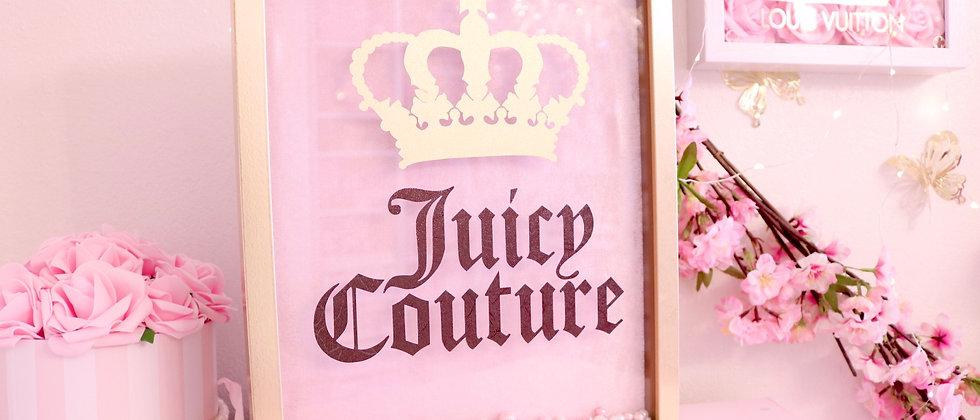 JC  Pink velvet frame