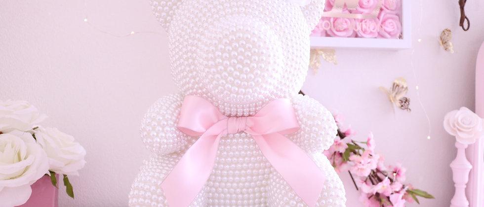 "13"" Deluxe Pearl Bear"