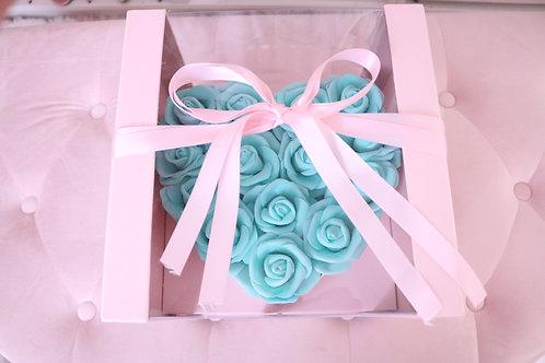 Rose Heart Box Tiffany