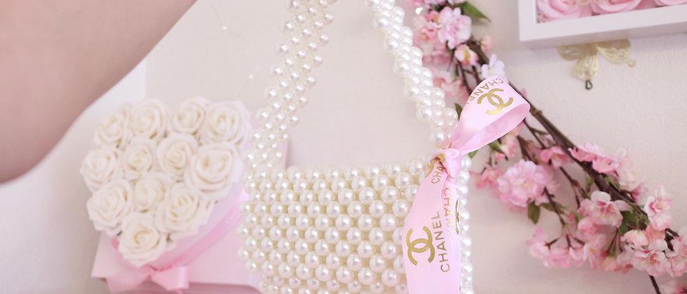 C Pearl handbag