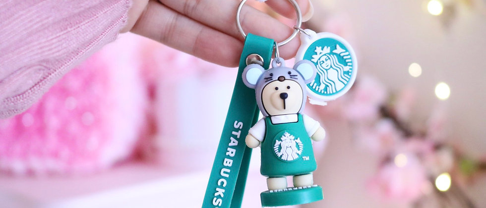 Mouse Sts keychain