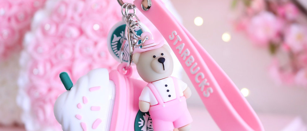 Sts Pink Airpod case & keychain