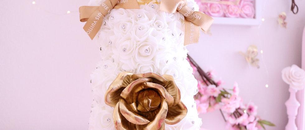 LV Deluxe Rose Bear