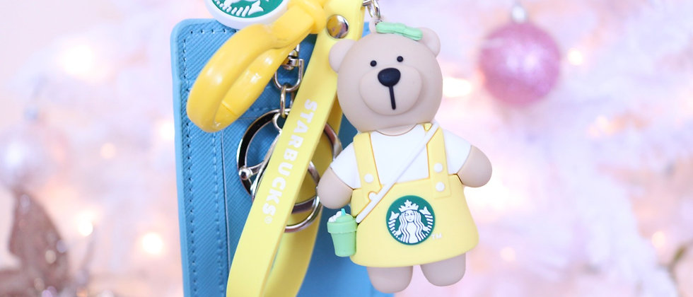 Sts Yellow keychain