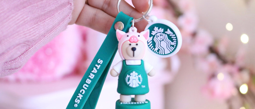 Pig Sts keychain