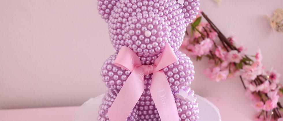 Lilac Pearl Bear