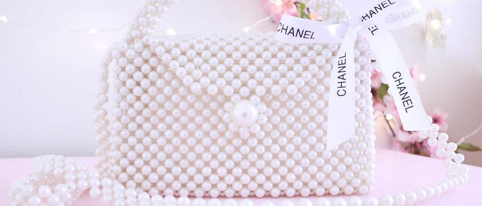 CC Ivory Pearl Bag