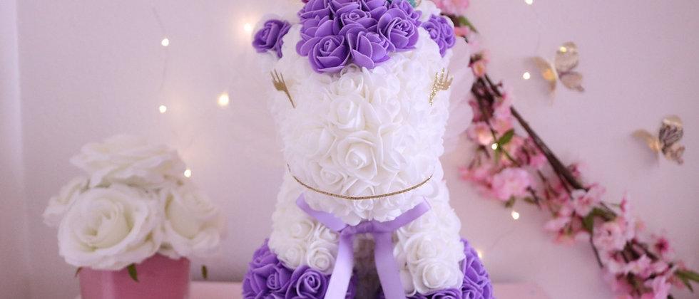 "13"" Purple Rose Unicorn"