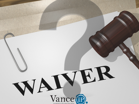 Tripping over IP Waivers