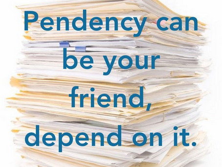 Do you Depend on Pendency?