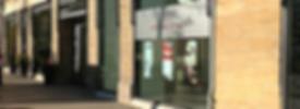Eingang Zahnkeramische Werkstatt Ludiwgsburg