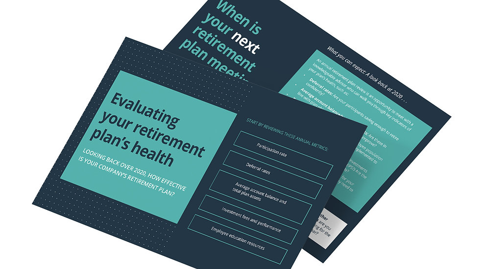Evaluating Your Retirement Plan's Health