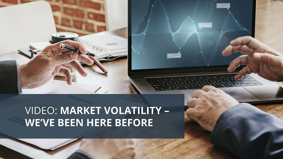 Market Volatility We've Been Here Before