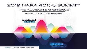 2019 NAPA 401(k) Summit_The Advisor Expe