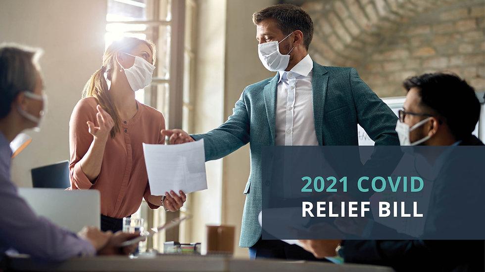 2021 COVID Relief Bill