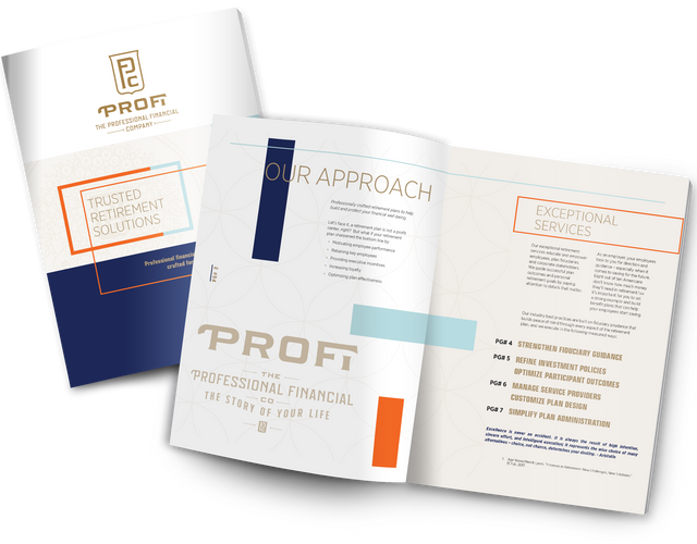 FOUNDATIONS Sample Brochure